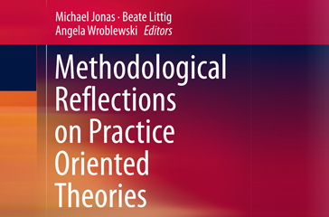 Buchcover - Methodological Reflections on Practice Oriented Theories