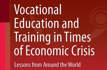 Book Cover: Vocational Education and Training in Times of Economic Crisis