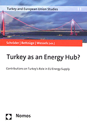 Book cover: Turkey as an Energy Hub