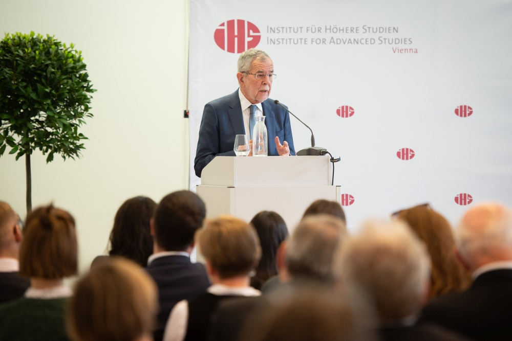 This years Heinrich Neisser Lecture featured Alexander Van der Bellen as a speaker.